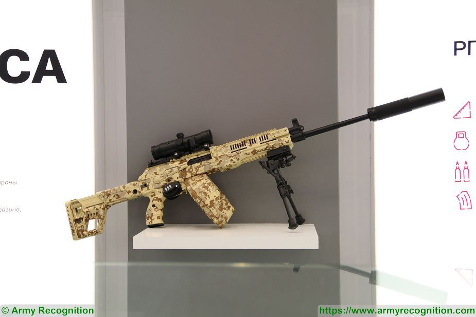 Exército russo recebe lote de metralhadoras RPK-16 para testes operacionais e Kalashnikov apresenta novos projetos