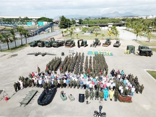 ADSUMUS: Batalhão de Engenharia de Fuzileiros Navais (BtlEngFuzNav)  comemora o 60º Aniversário