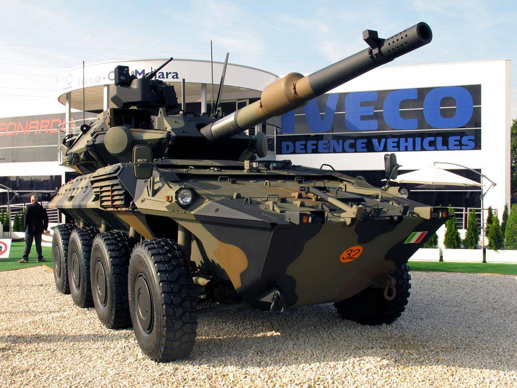 Iveco Veículos de Defesa assina contrato com o Exército Italiano para o fornecimento de veículos Centauro II