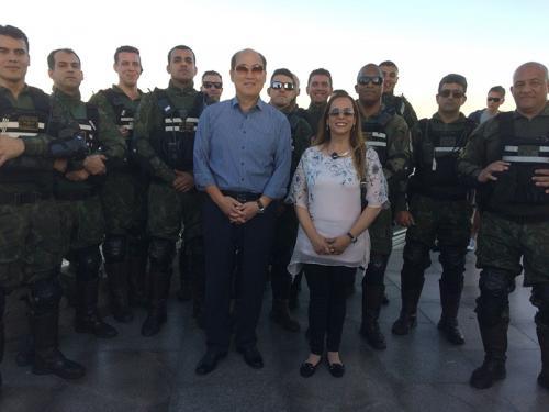 ADSUMUS: Companhia de Polícia do Batalhão Naval (CiaPolBtlNav) realiza escolta do Secretário-Geral da Organização Marítima Internacional
