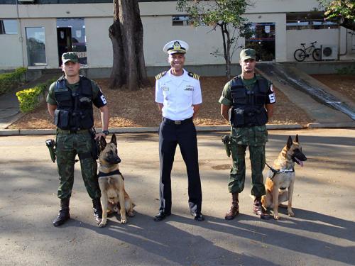 ADSUMUS: Grupamento de Fuzileiros Navais de Brasília (GptFNB) realiza Estágio de Adestrador de Cães de Guerra