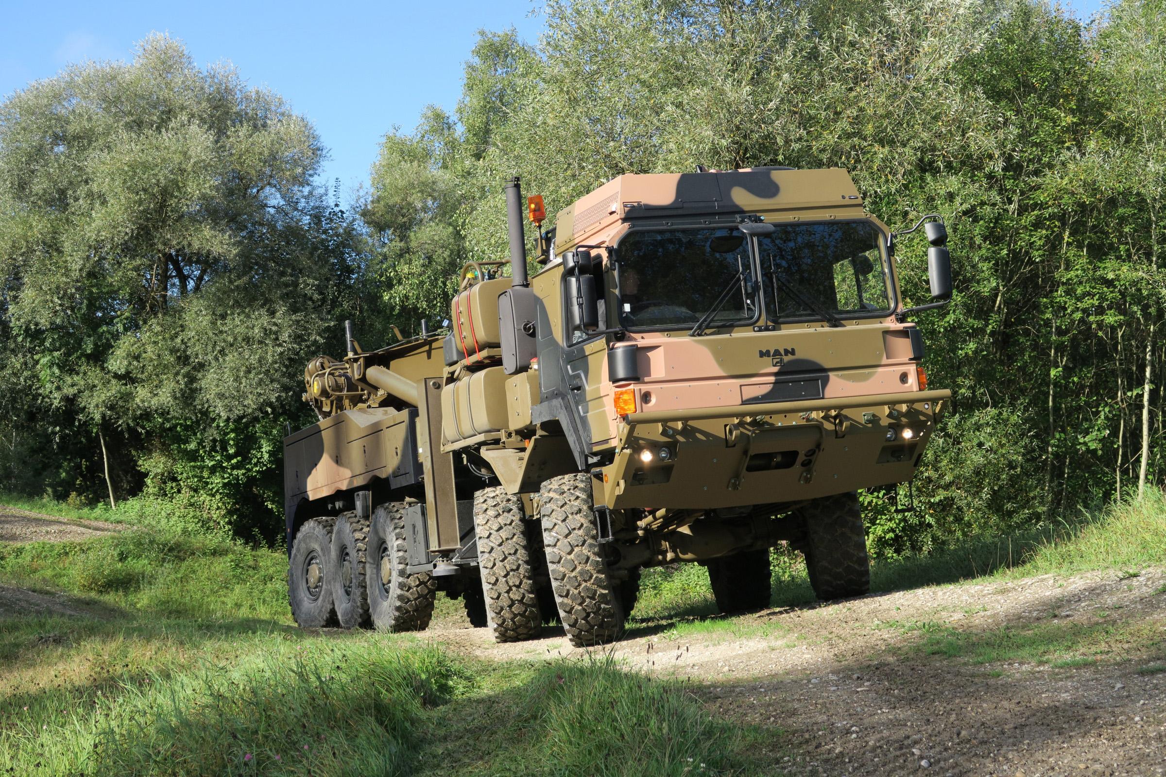 Rheinmetall MAN  escolhida  para fornecer mais de 1000 caminhões militares para a Austrália