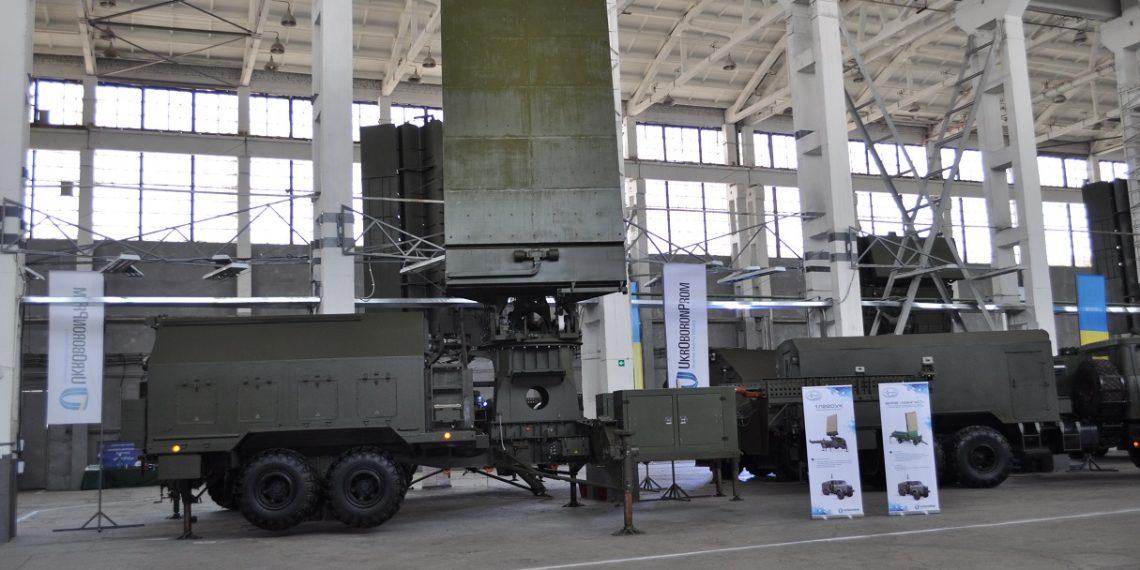 Ucrânia desenvolve novo sistema móvel de localização de armas