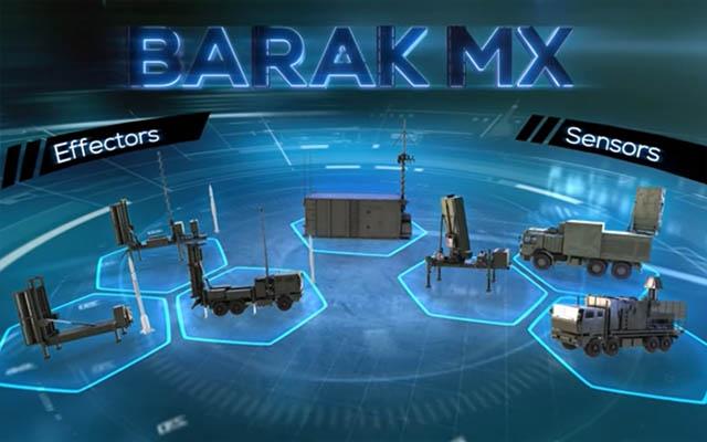 Israel Aerospace Industries (IAI) expande a linha de defesa aérea BARAK