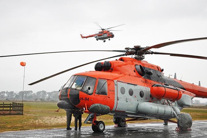 Falta de recursos afeta operações dos Mil Mi-171E da  Força Aérea Argentina