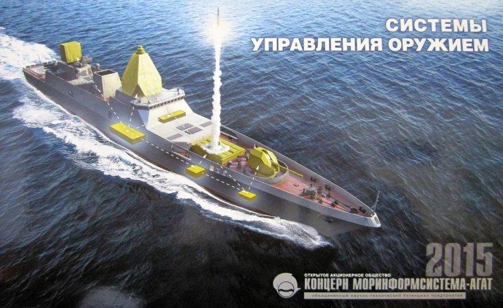Severnoye Design Bureau inicia o projeto das fragatas Project 22350M  ainda em 2018