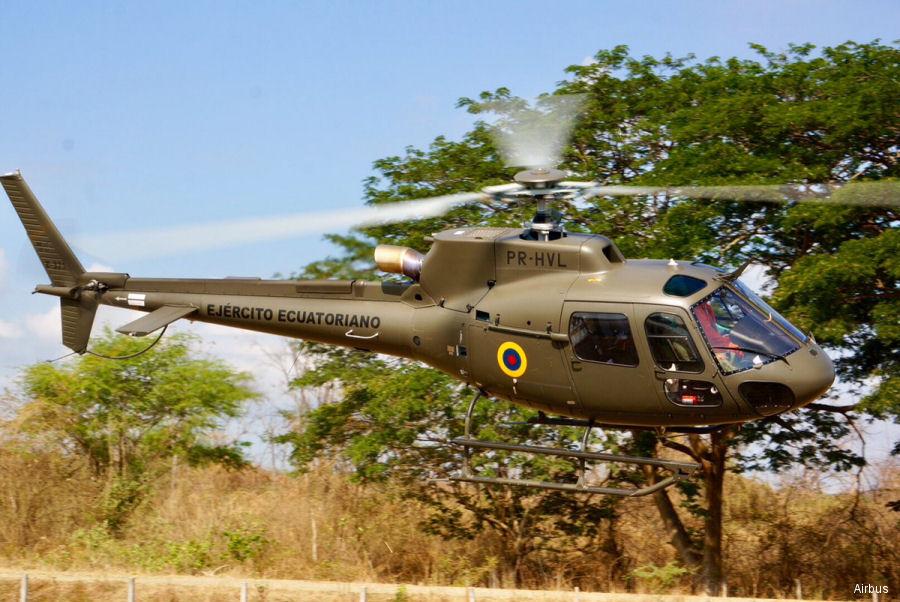 Exército do Equador recebe segundo helicóptero H125 da Airbus