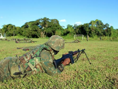 ADSUMUS: Grupamento de Fuzileiros Navais de Salvador (GptFNSa) realiza adestramento de pelotões
