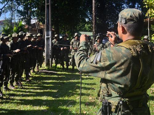 ADSUMUS:  2° Batalhão de Operações Ribeirinhas (2°BtlOpRib) realiza Estágio de Adaptação para soldados fuzileiros navais