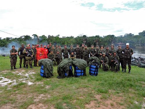 ADSUMUS: 2° Batalhão de Operações Ribeirinhas (2ºBtlOpRib) participa de adestramento com o Exército Brasileiro em Acará-PA