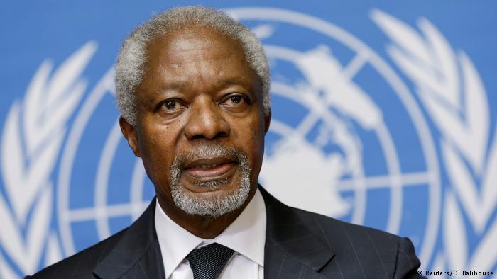 Morre ex-secretário-geral da ONU Kofi Annan