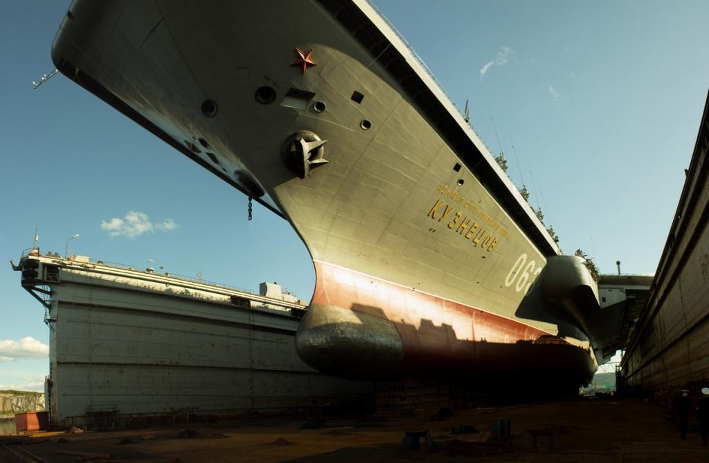 """O chefe da Nevsky PKB explica tudo sobre a reparação de porta-aviões """"Almirante Kuznetsov"""""""