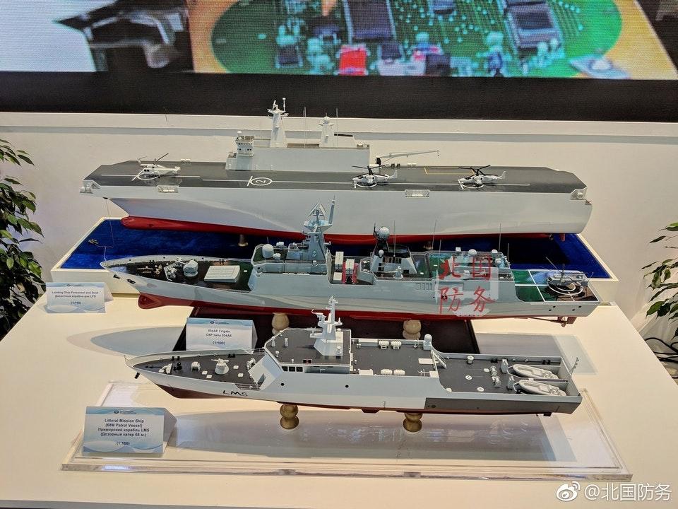 Segundo televisão chinesa a Marinha Russa interessada em sistemas militares chineses