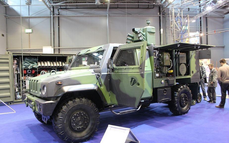 Iveco Veículos de Defesa assina contrato com a República Checa para o fornecimento de veículos blindados LMV  4×4