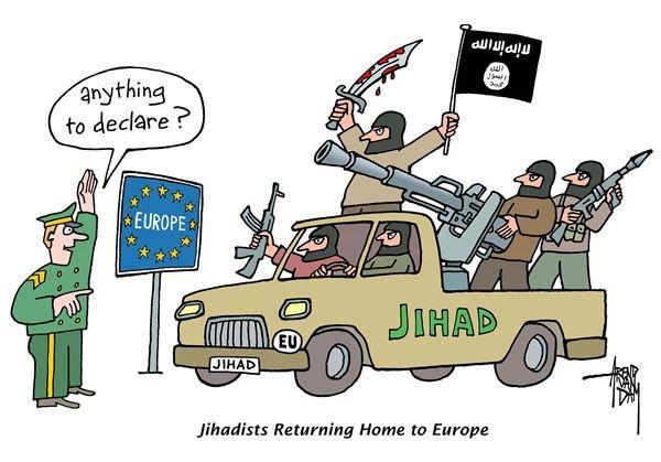 Foi divulgado um dos canais de fornecimento de armas aos militantes sírios