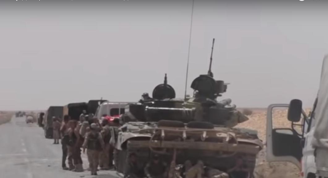 Preparação para a batalha decisiva: Carros de combate e pontes chegam às cercanias de   Idlib