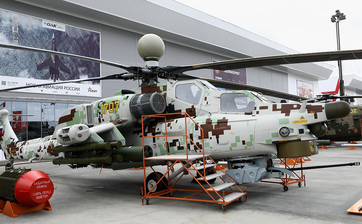"""Army-2018: Apresentada a versão modernizada """" Mi-28NE"""" para exportação"""