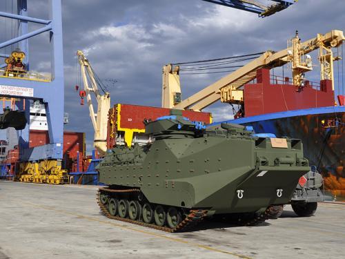 ADSUMUS: Corpo de Fuzileiros Navais recebe 20 novos Carros Lagarta Anfíbios