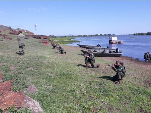 ADSUMUS: Grupamento de Fuzileiros Navais de Brasília (GptFNB) participa de Adestramento de Equipe Ribeirinha do Pantanal