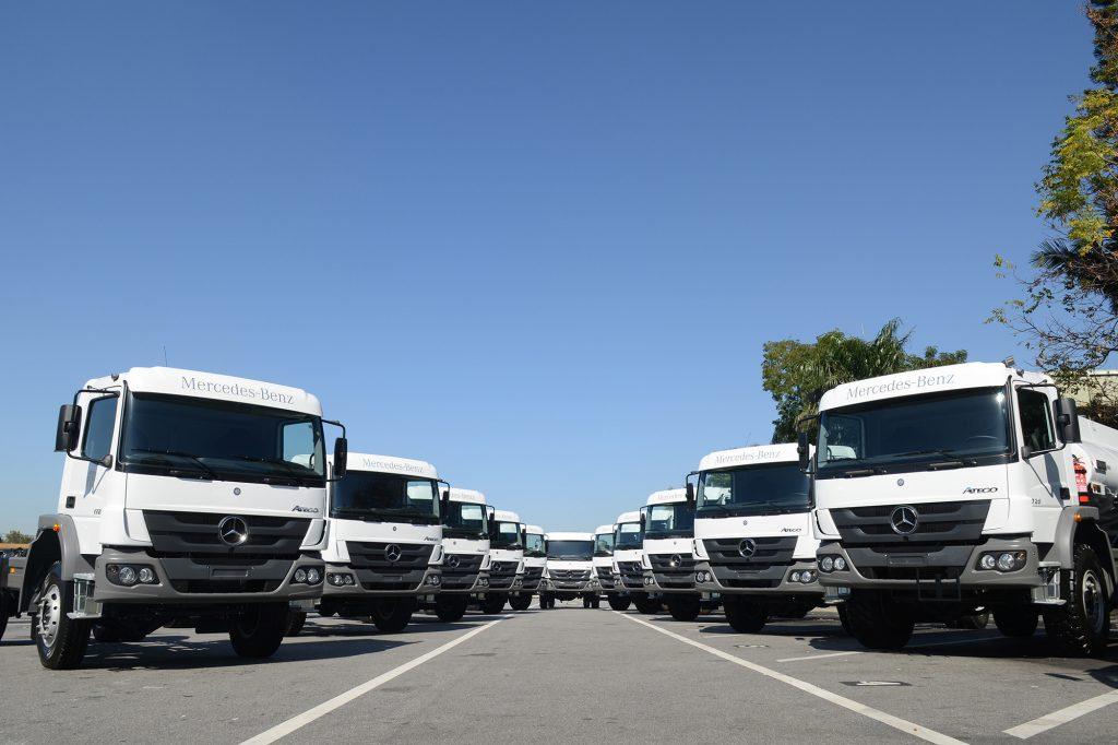 Mercedes-Benz aumenta 34% exportação para África e Oriente Médio em 2018