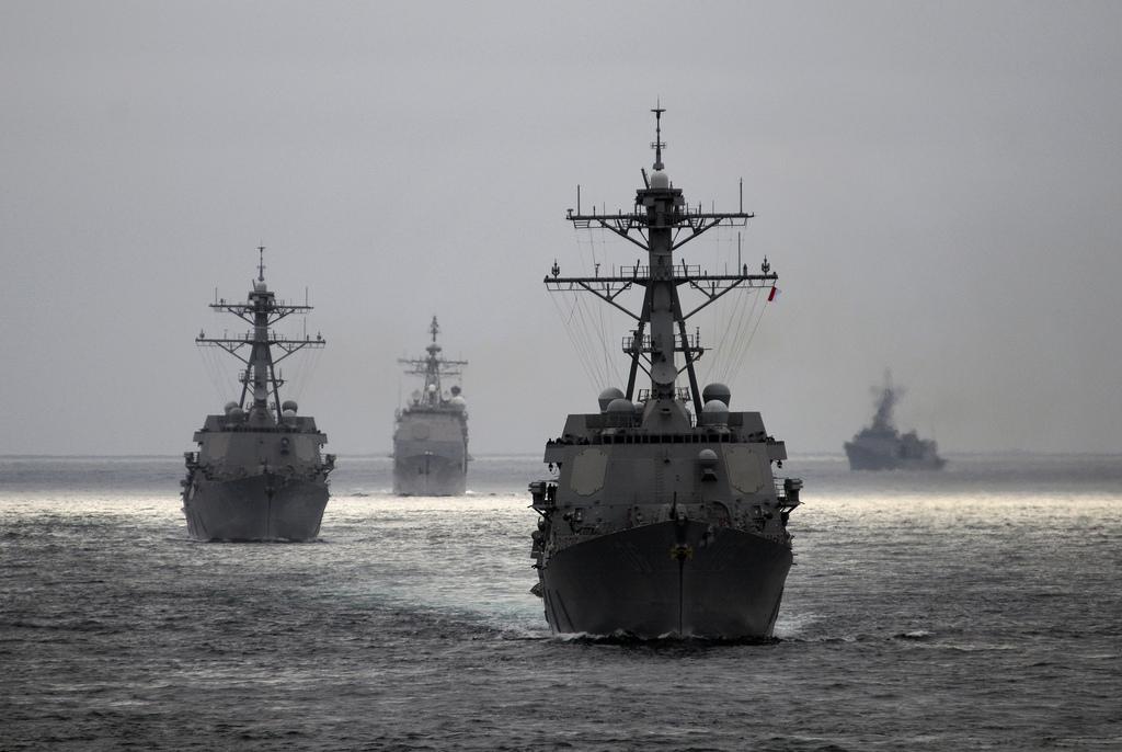 Marinha dos EUA concede contratos de US $ 9 bilhões para a construção novos Destroyers classe Arleigh Burke