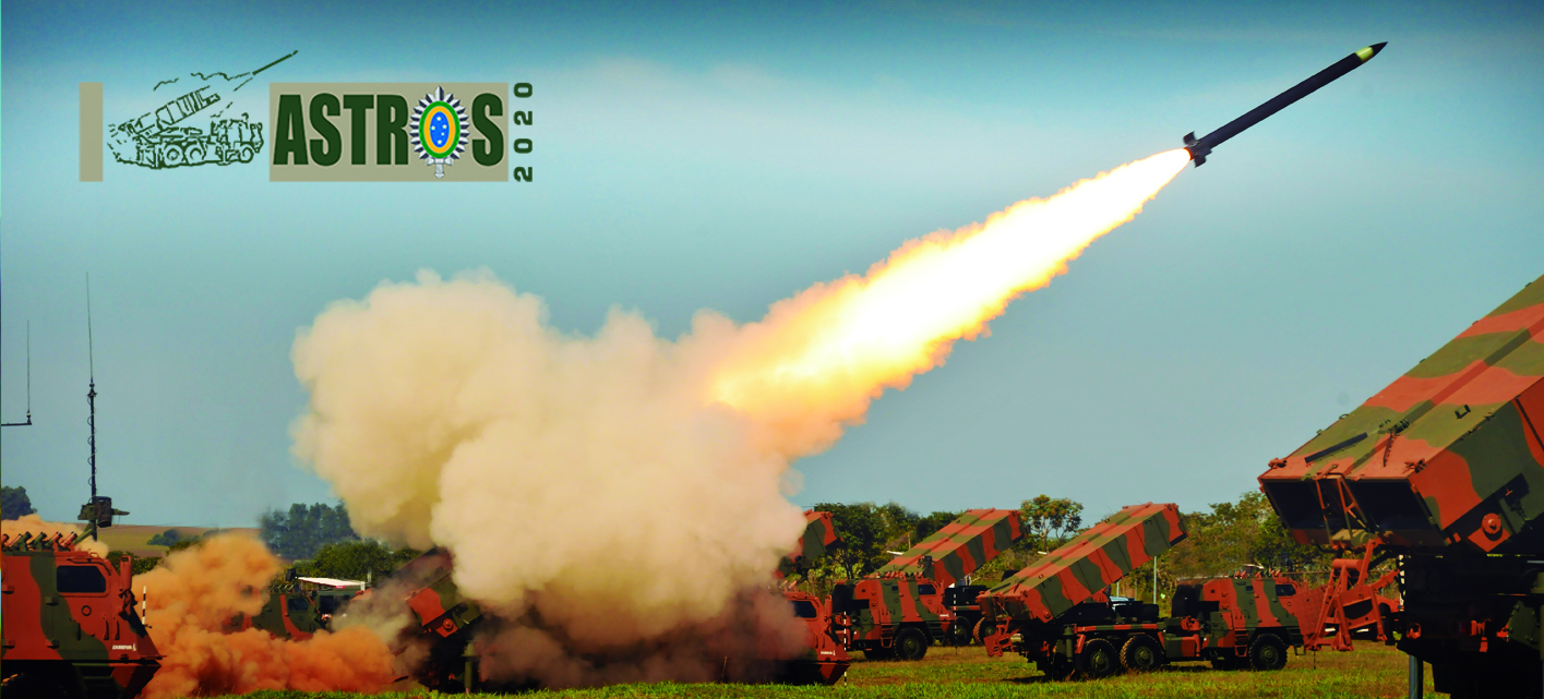 Espanha pode estar interessada em adquirir sistemas de artilharia de Saturação Avibras Astrus 2020