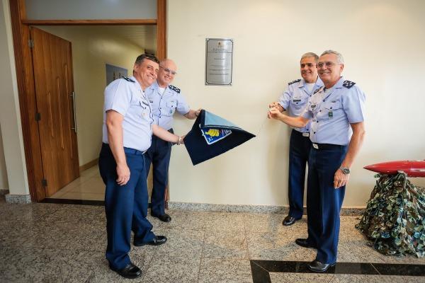 FAB PÉ DE POEIRA: Inaugurada instalações da Primeira Brigada de Defesa Antiaérea (1ª BDAAE)