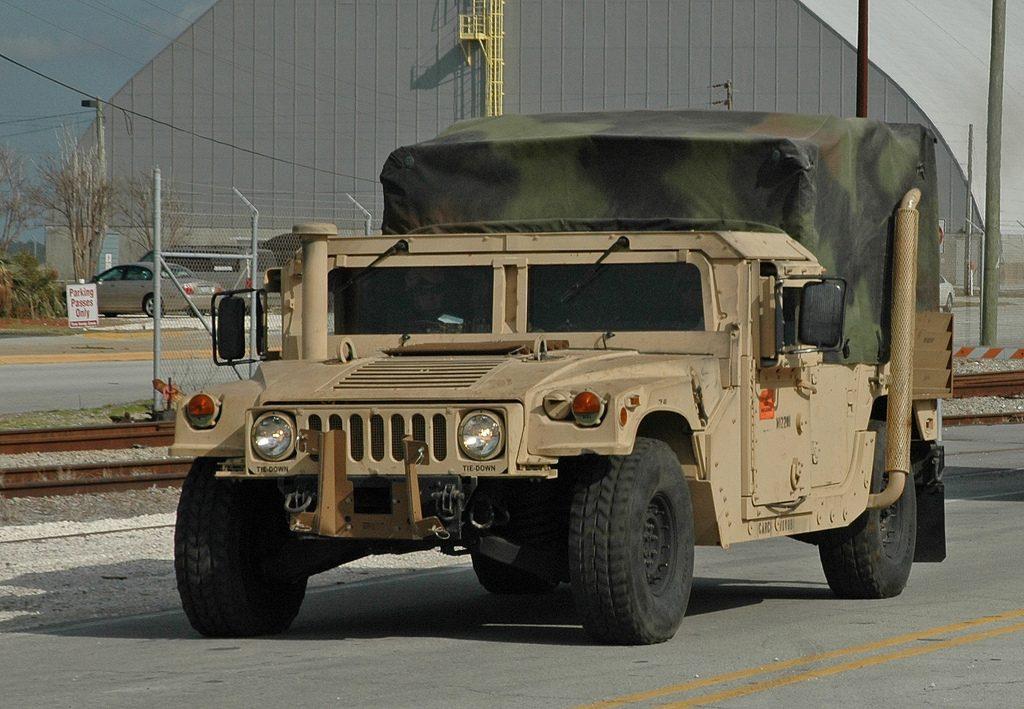 AM General assina contrato para o fornecimento de 740 unidades do Humvee para a Guarda Nacional dos EUA