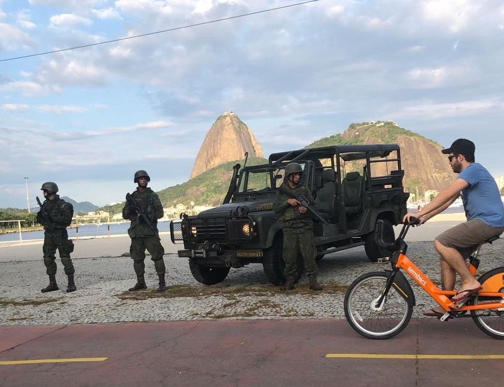 ADSUMUS: Força de Fuzileiros da Esquadra (FFE) contribui para a segurança das Eleições 2018 no Rio de Janeiro