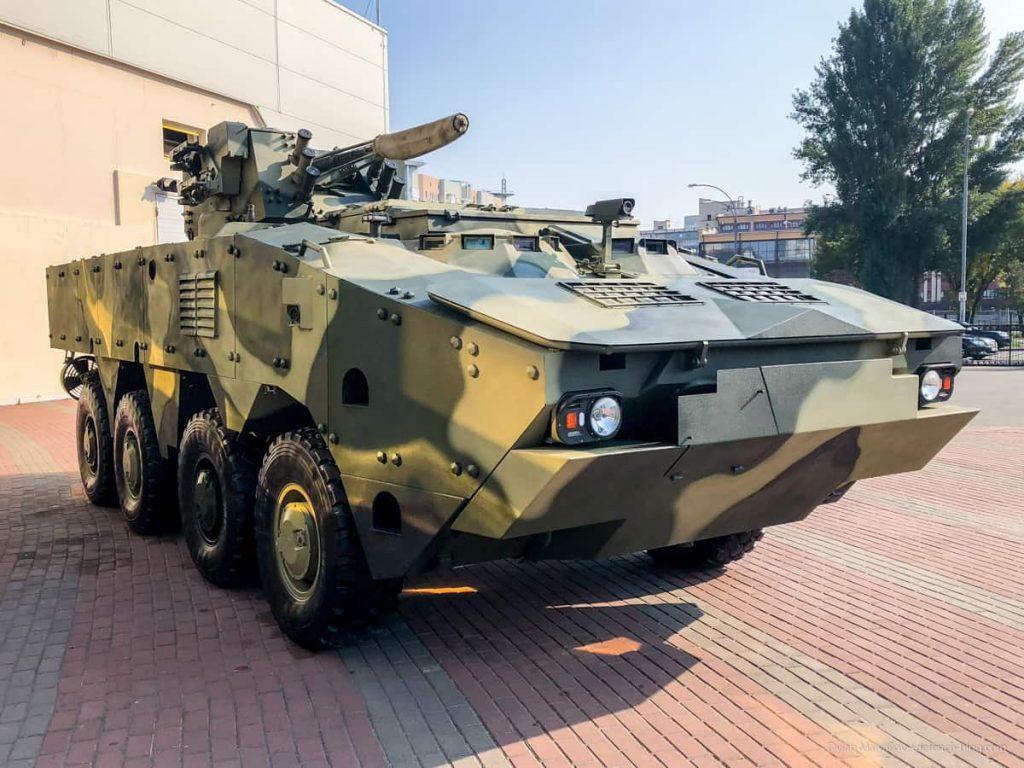 """Corpo de Fuzileiros Navais Tailandês demonstra interesse pelo veiculo blindado  ucraniano BTR-4MV1 """"Bucephalus""""."""