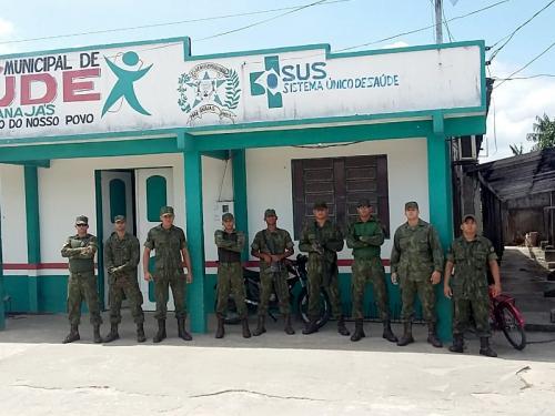 """ADSUMUS: 2° Batalhão de Operações Ribeirinhas (2°BtlOpRib) participa da Operação """"Eleições 2018"""""""
