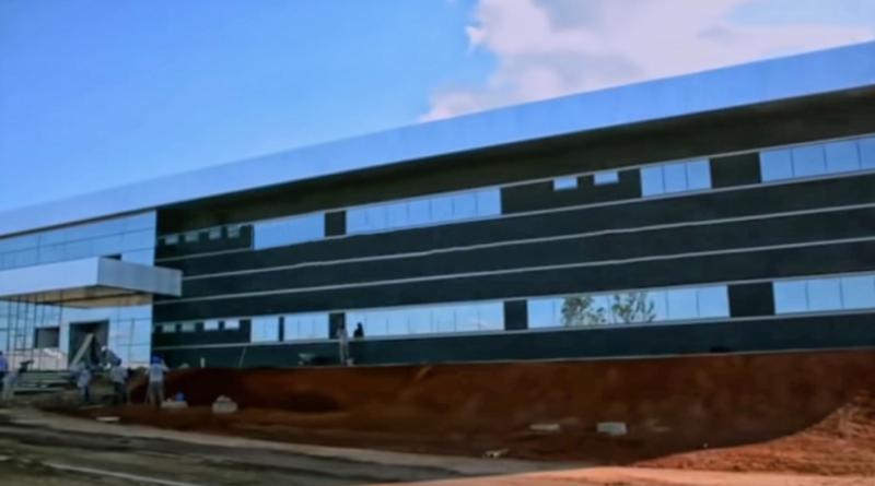 Instalações de fábrica de armas da DelFire Arms (DFA) estão em fase de conclusão no Distrito Agro-Industrial de Anápolis