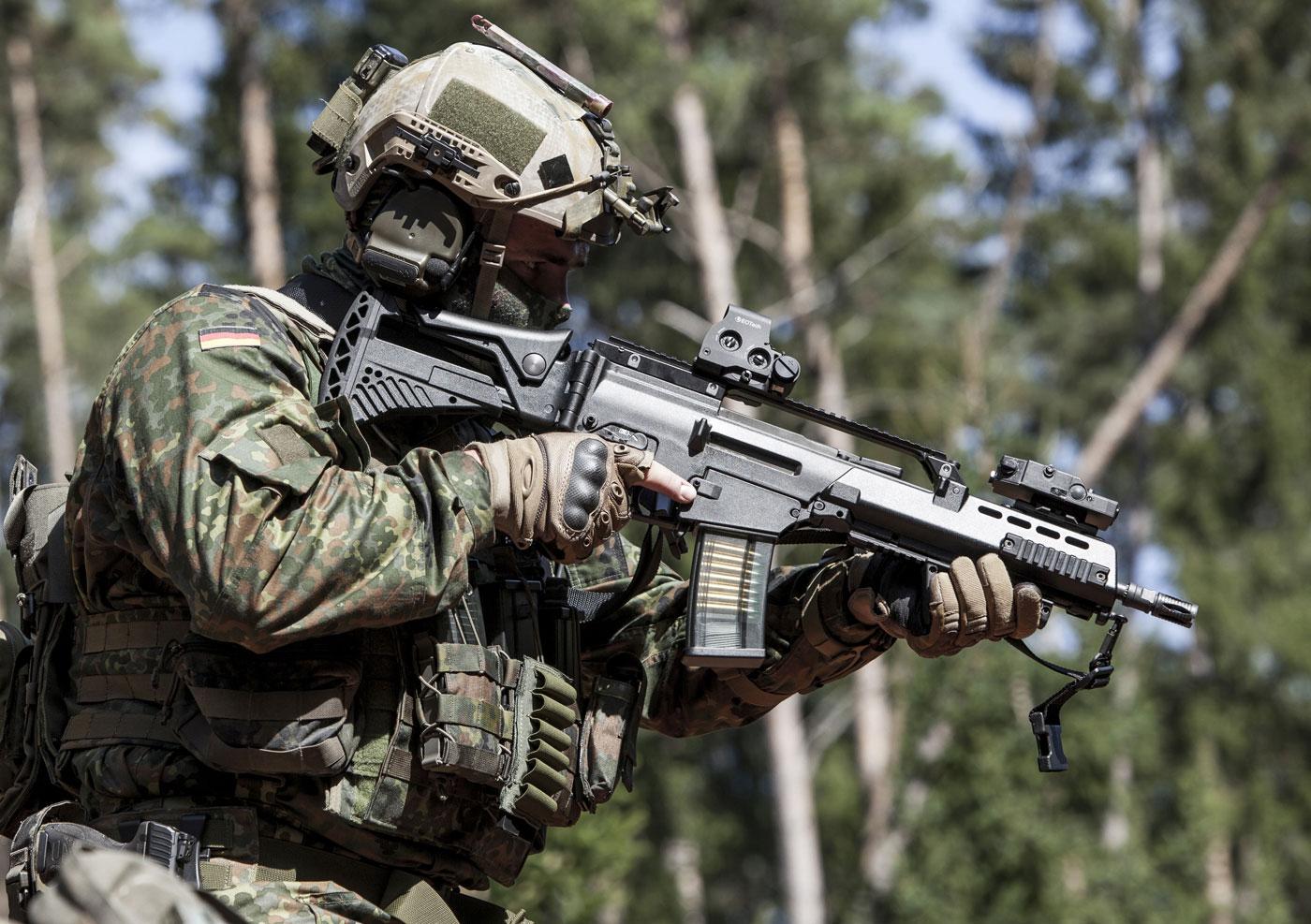 Lituânia adquire novo lote de fuzis de assalto Heckler & Koch G36