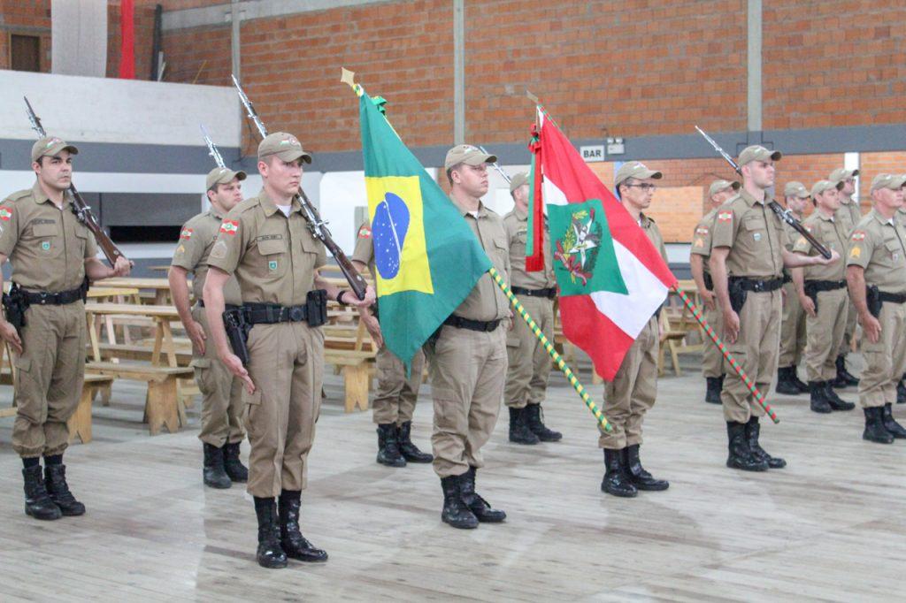 Segurança Pública: Polícia Militar de Santa Catarina (PMSC) recebe novas armas e equipamentos