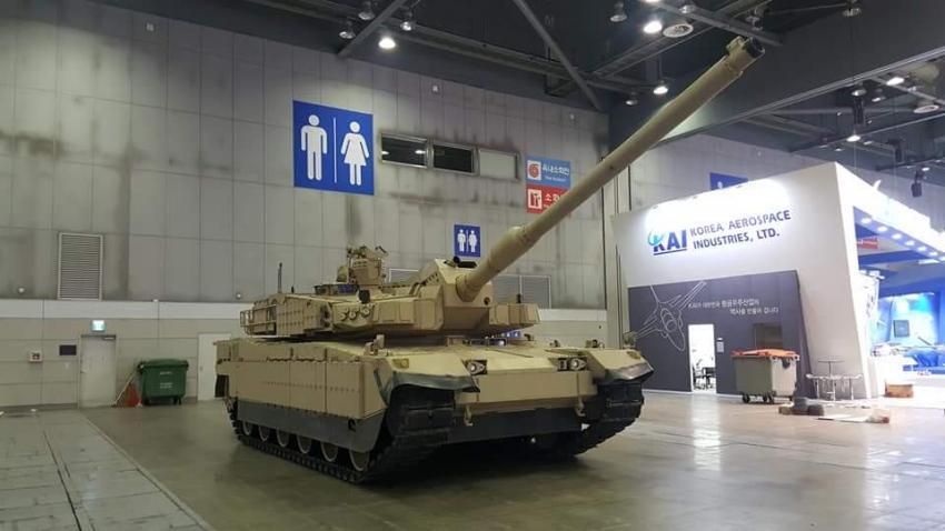 """Coreia do Sul oferece seu carro de combate K2 """"Desert Panther""""  para Omã"""