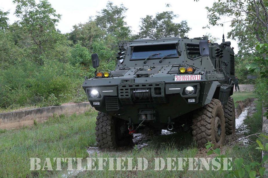 Mercado de Blindados: Tailândia apresenta seu novo veículo blindado 4×4 AFV-420P Mosquito