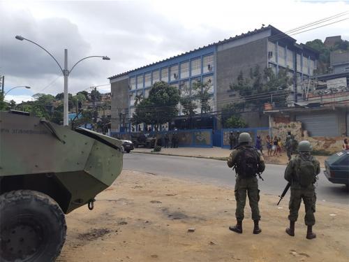 Força de Fuzileiros da Esquadra (FFE) atua no segundo turno das Eleições 2018