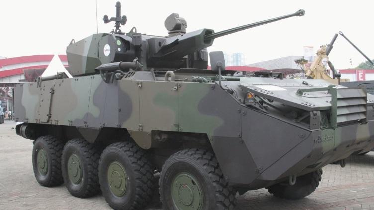 Pandur II CZ 8×8 passa por testes no Exército da Indonésia