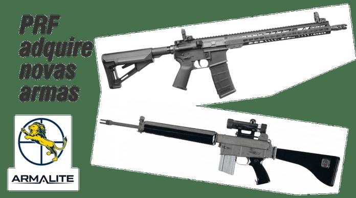 Polícia Rodoviária Federal adquire  800 carabinas e 20 fuzis de precisão da Armalite