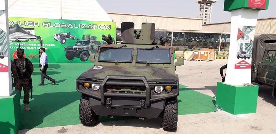 Kia Motors propõe seu veículo blindado leve para o exército do Paquistão