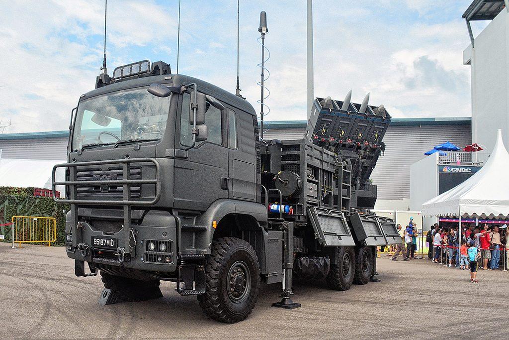 Força Aérea Filipina  seleciona sistema de defesa antiaérea  SPYDER