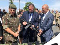Segurança Pública: Gabinete de Intervenção Federal entrega armas e munições aos órgãos de segurança do Estado