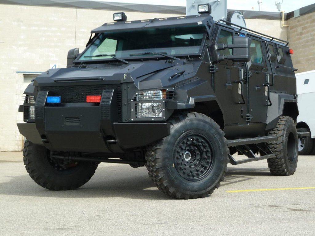 Polícia Rodoviária Federal  adquire veículos  blindados Spartan ASV da  STREIT Group