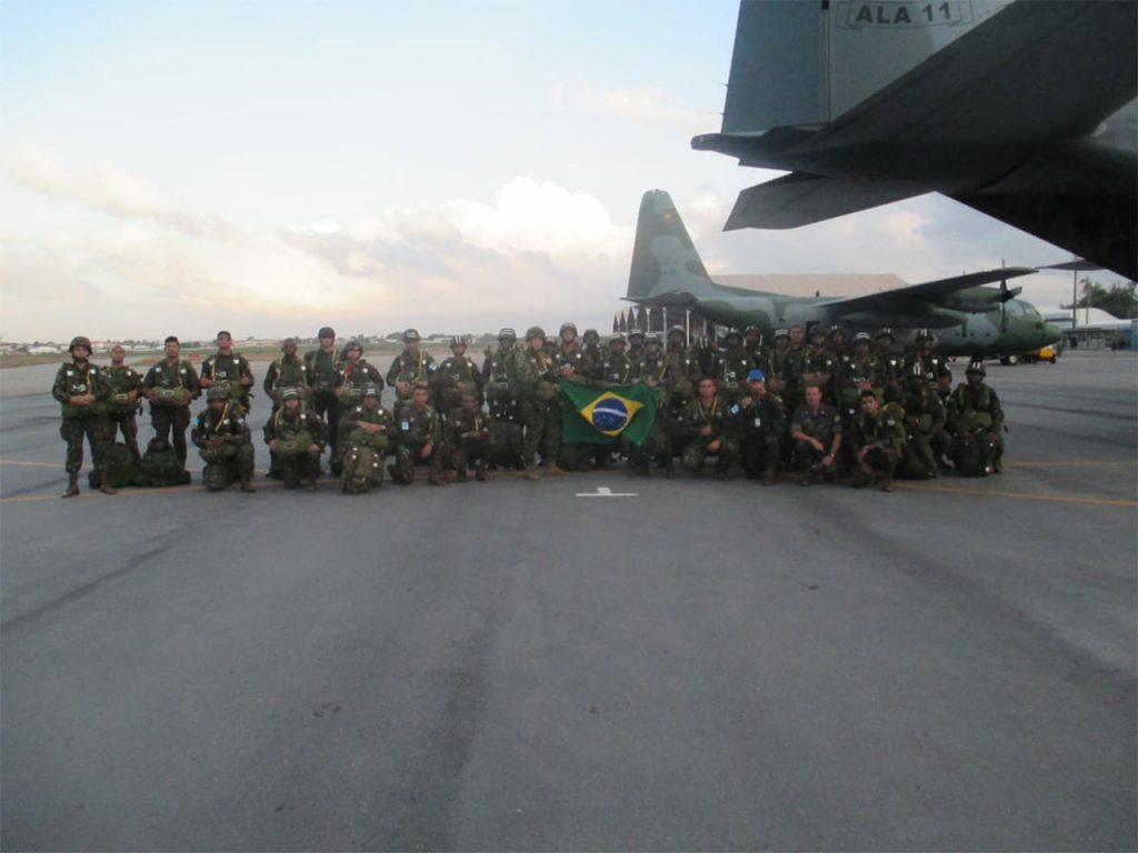 Brigada de Infantaria Pára-quedista (Bda Inf Pqdt) participa da Operação Cruzex 2018