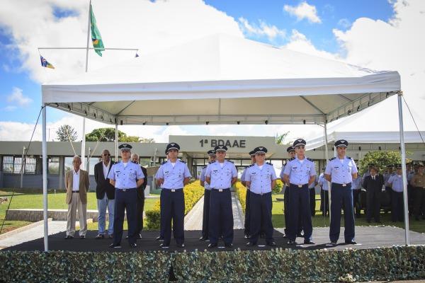 FAB PÉ DE POEIRA: FAB celebra os 77 anos da Infantaria da Aeronáutica
