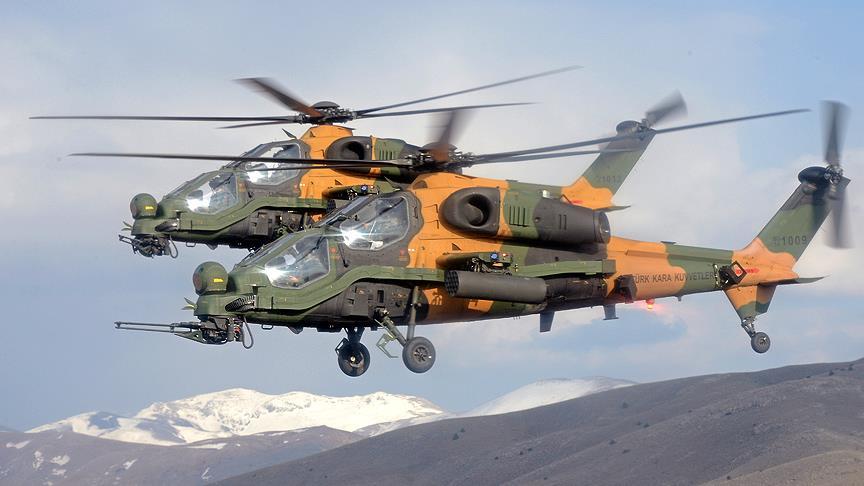 Força Aérea  Filipina seleciona helicóptero de ataque T129ATAK de fabricação Turca