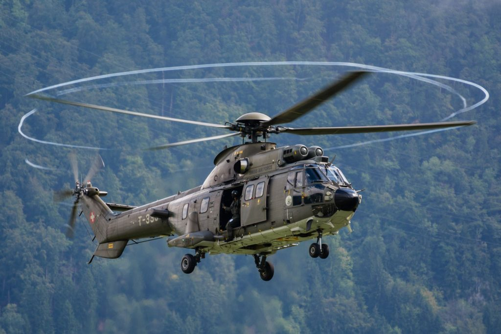 RUAG recebe contrato para modernização dos helicópteros  AS532 da Força Aérea Suíça