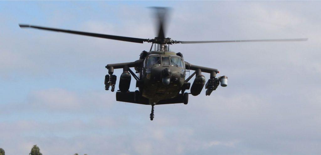 "Força Aérea Colombiana inicia o batismo de seus helicópteros AH-60L  ""arpia IV"""