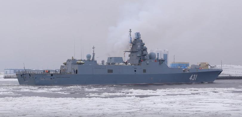 Almirante Kasatonov conclui os primeiros testes de mar
