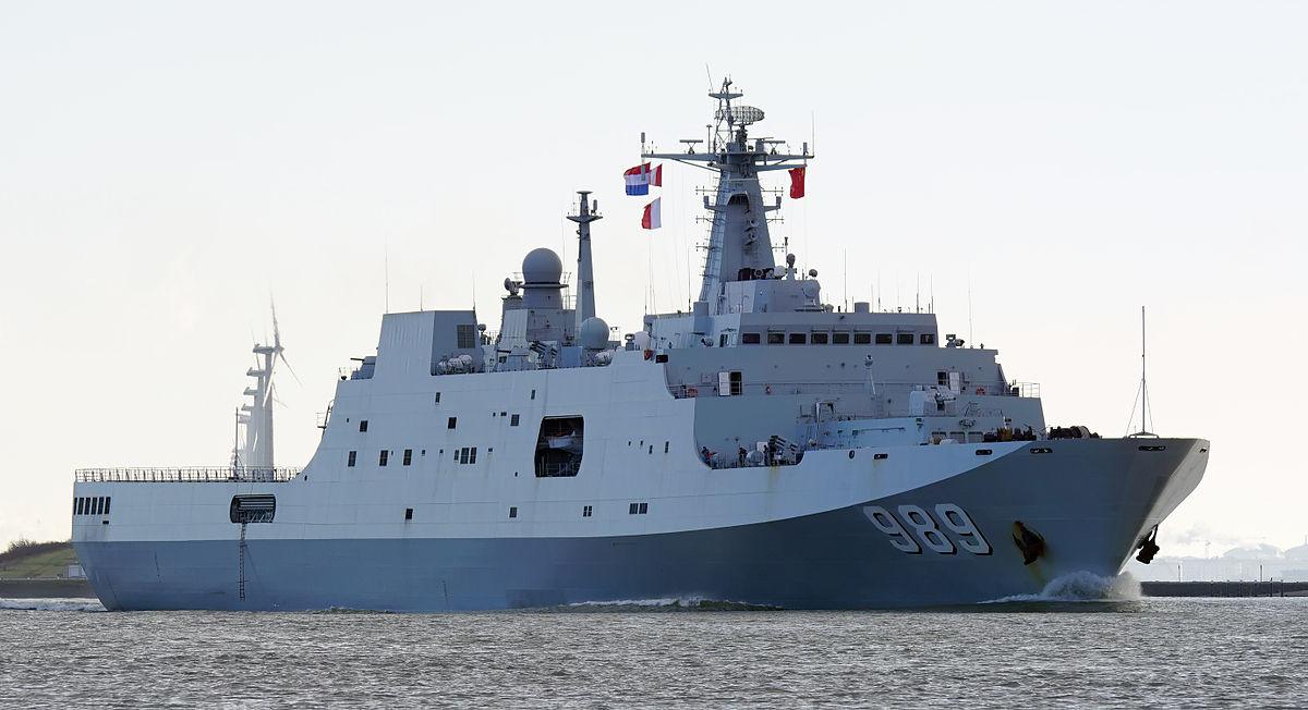 A Marinha do Exército de Libertação do Povo da China (PLAN) comissiona seu sexto navio de assalto anfíbio Classe 071 (Yuzhao) e outro destróier de classe Tipo 052D (Luyang III).